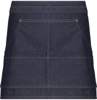 Waist Apron Jeans stitch denim