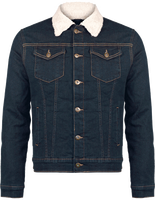 Sherpa-lined Denim Jacket Men