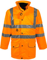 Hi-Vis Multi-Functional 7-in-1 Parka
