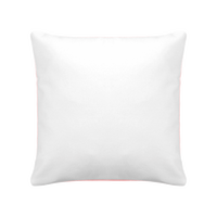 Pillow case with coloured backside
