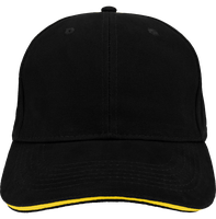 Men athleisure 6 panels cap