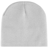 Beanie with fleece lining