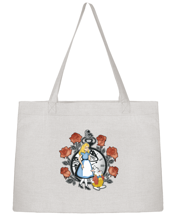 Shopping tote bag Stanley Stella Time for Wonderland by Kempo24