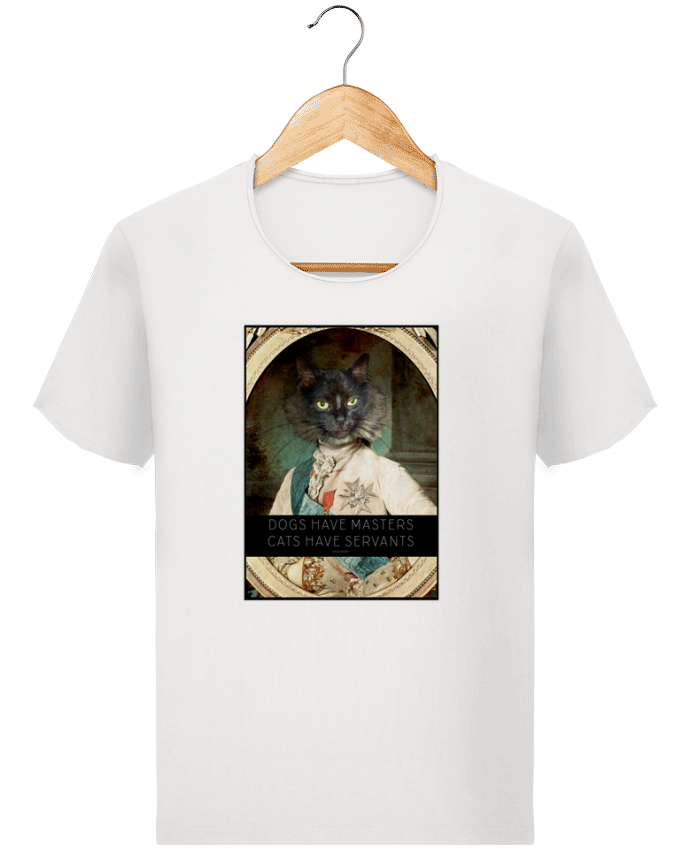 T-shirt Men Stanley Imagines Vintage King Cat by Tchernobayle