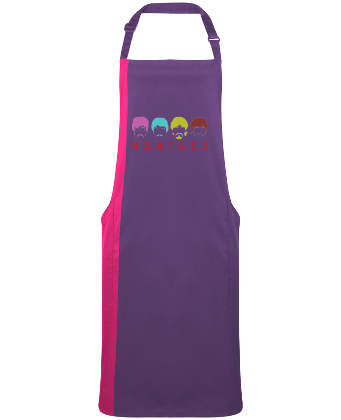 Two-tone long Apron BEATLES by  LOGOPAT