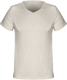 T-Shirt V-Neck Men 120g