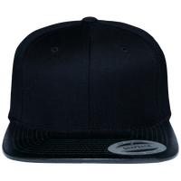 Snapback Cap leather visor
