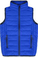 Sleeveless light down jacket without sleeves
