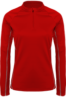 Sweatshirt Women 1/4 Zip Running