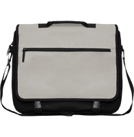 Briefcase with flap