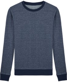 Sweat-shirt homme couleur jean Stanley Seeks Denim