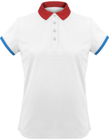 Polo Shirt Women performance Piqué