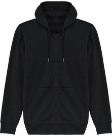 Essential unisex zip-thru hoodie sweatshirt Connector