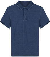 Men\'s denim polo Stanley Dedicator Denim