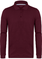 Men\'s long-sleeved polo shirt 220gr