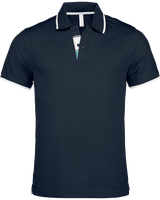 Polo Shirt Men border neck