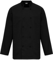 Chef's Jacket mixed long sleeves