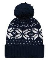 Bobble Hat with Jacquard pattern