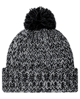 Bobble Hat Knitted Twist