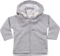 Hoddie with zip for baby