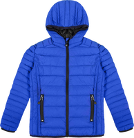 Hooded light down Jacket Kids