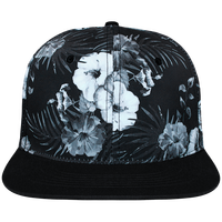 Snapback Cap Hawaii Crown pattern