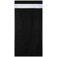 Cotton towel with polyester border, 50 x 100 cm
