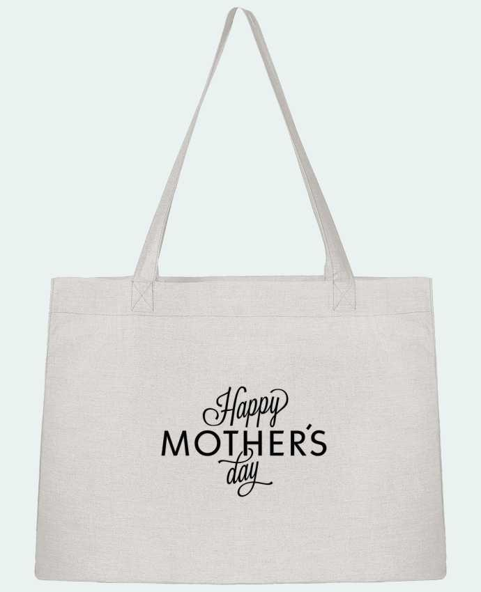 Shopping tote bag Stanley Stella Happy Mothers day by tunetoo