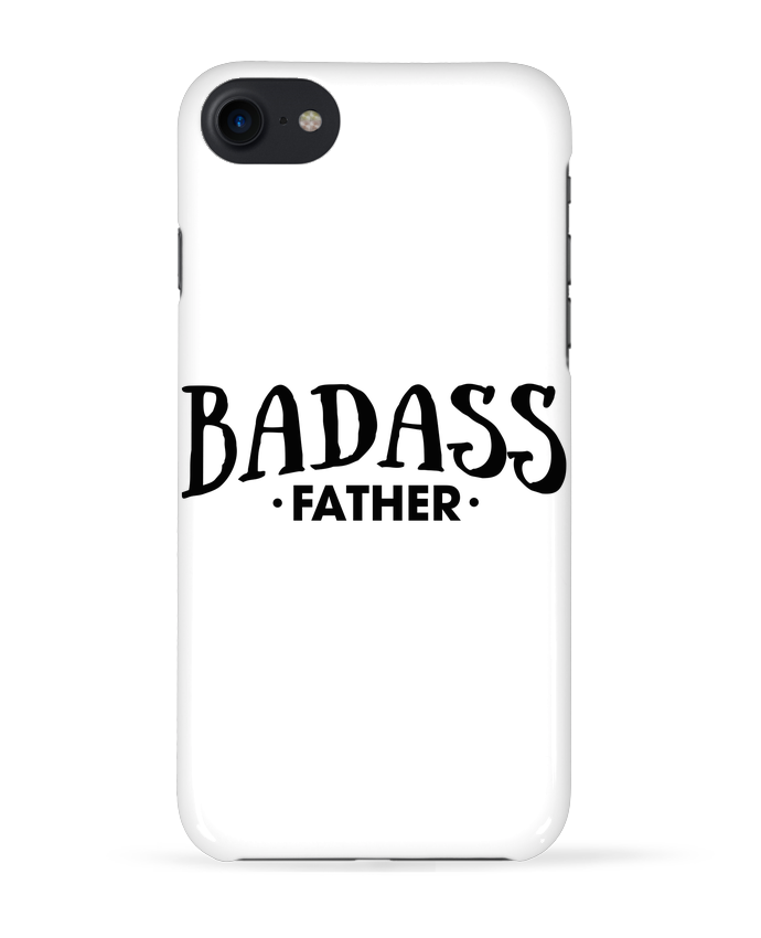 Case 3D iPhone 7 Badass Father de tunetoo