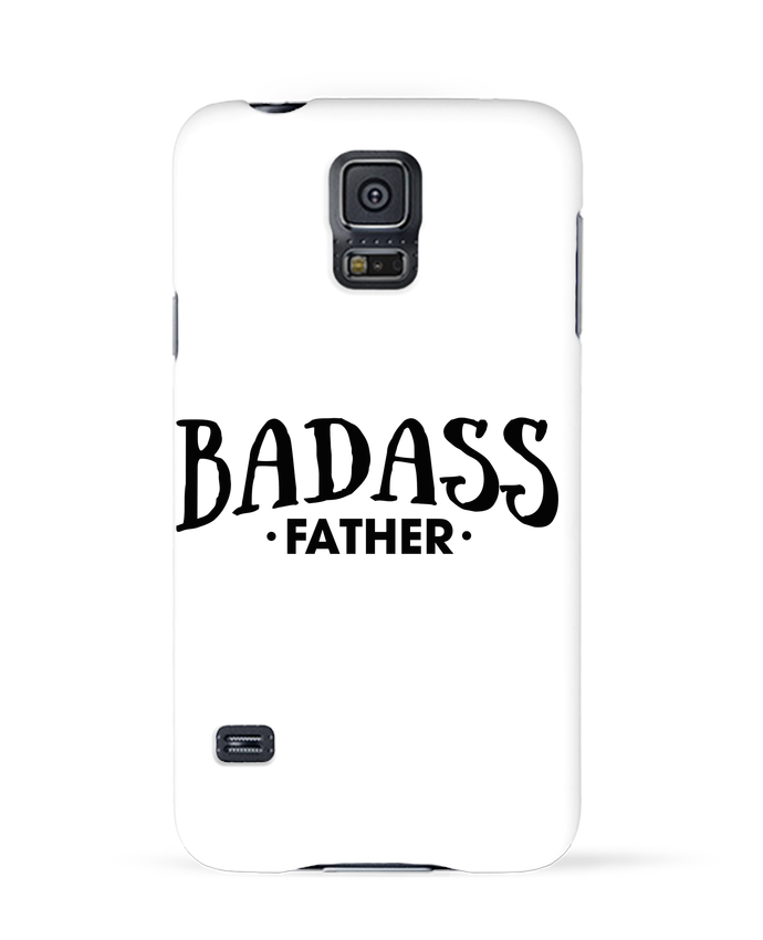 Case 3D Samsung Galaxy S5 Badass Father by tunetoo