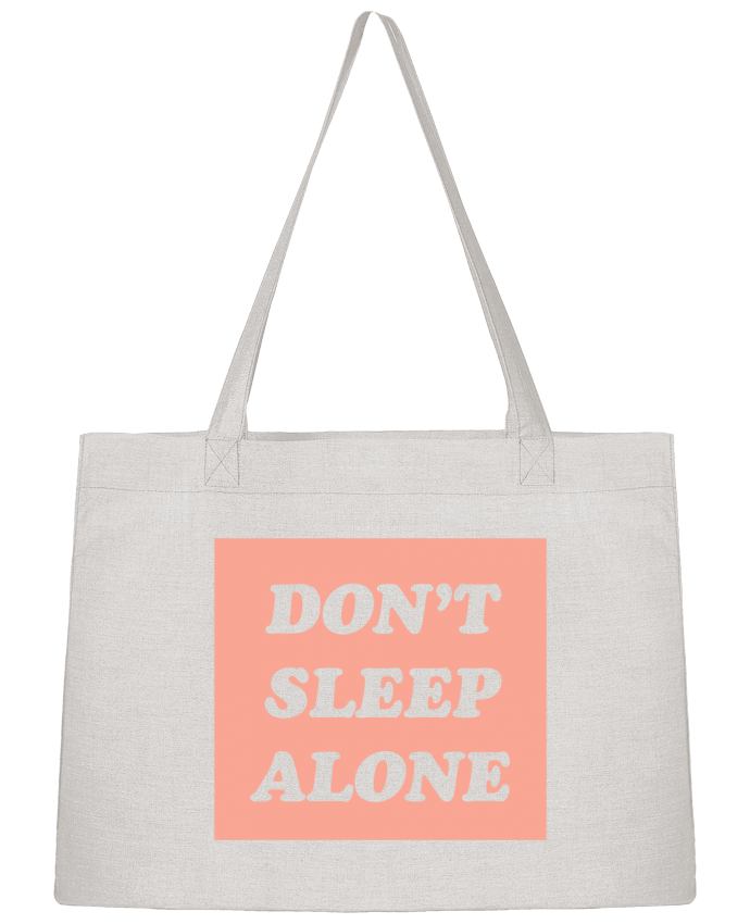 Shopping tote bag Stanley Stella Don't sleep alone by tunetoo