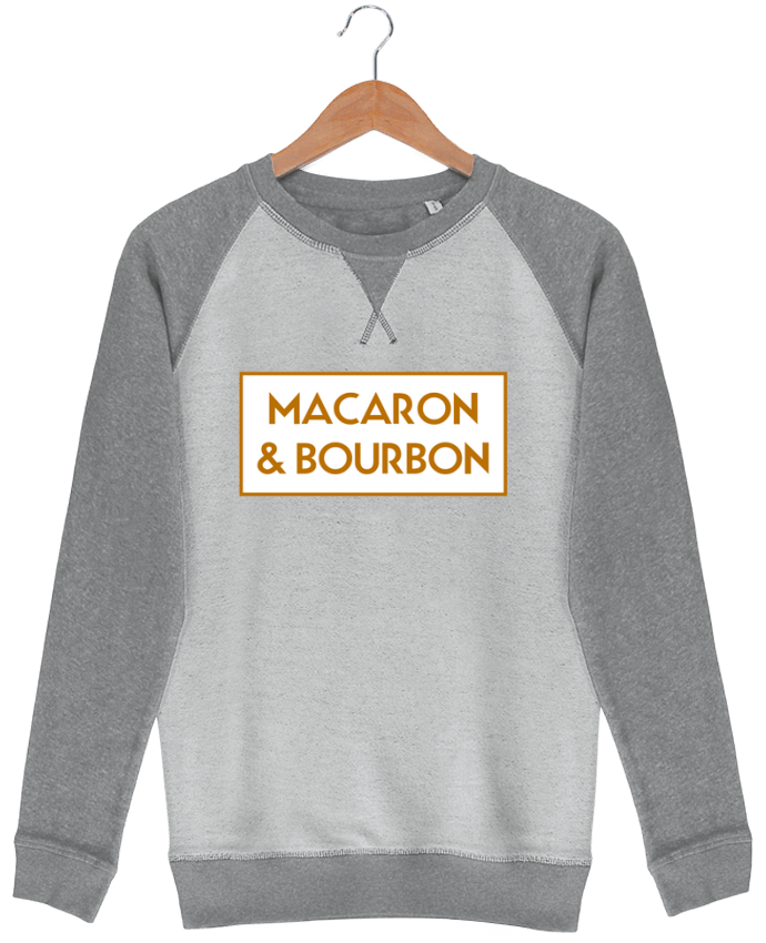Sweat French Terry Macaron et bourbon by tunetoo