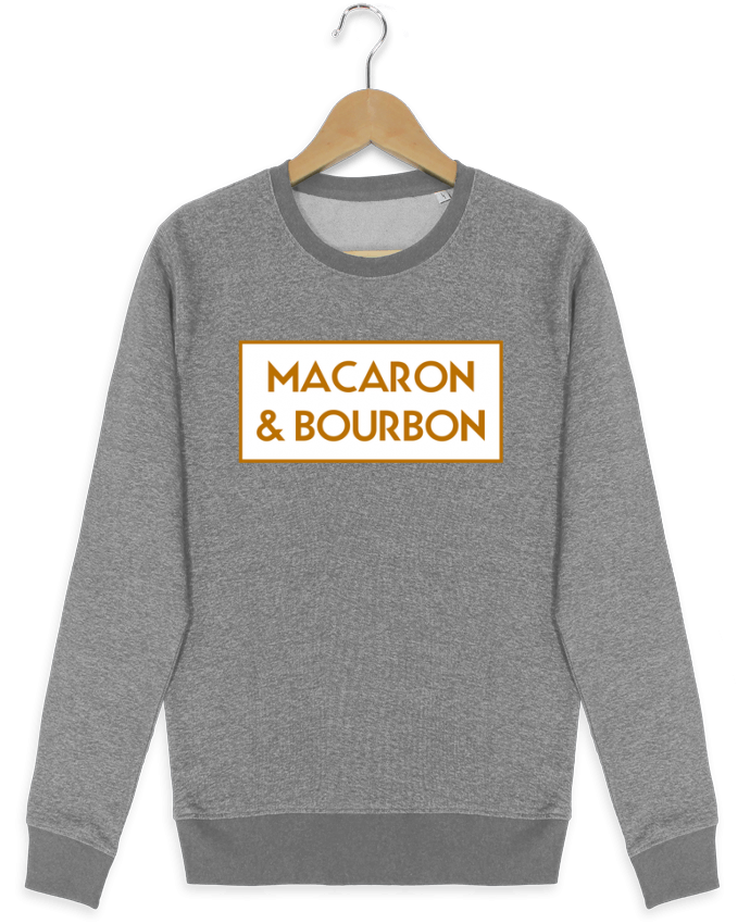 Sweatshirt crew neck Stella Seeks Macaron et bourbon by tunetoo