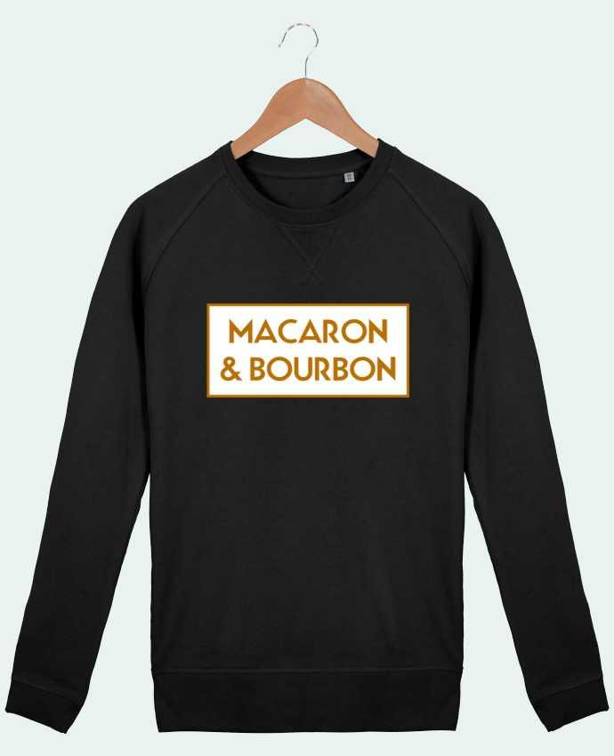Sweatshirt Men crew neck Stanley Strolls Macaron et bourbon by tunetoo