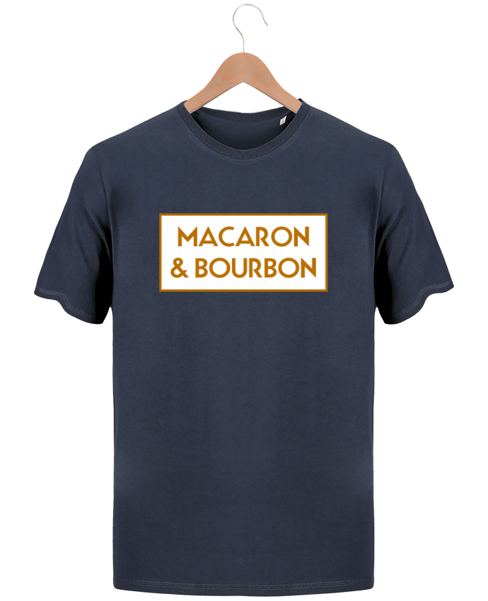 T-Shirt Men Stanley Hips Macaron et bourbon by tunetoo