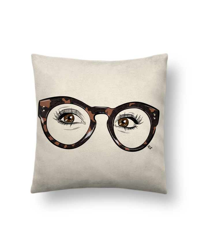 Cushion suede touch 45 x 45 cm Printcess I by Studio Tix
