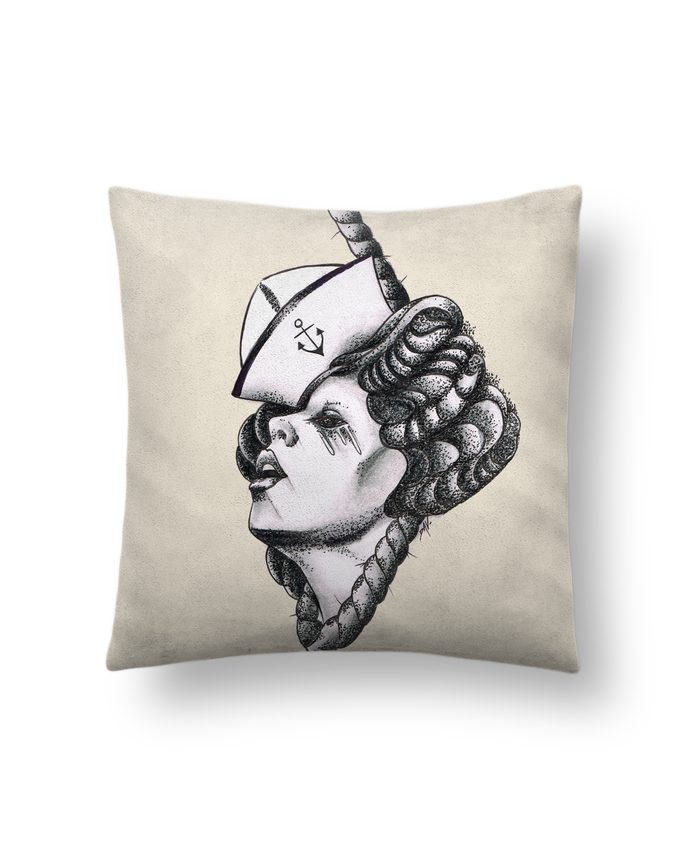 Cushion suede touch 45 x 45 cm Femme capitaine by david