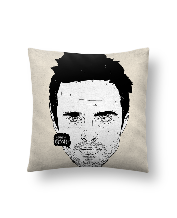 Cushion suede touch 45 x 45 cm Jesse Pinkman by Nick cocozza