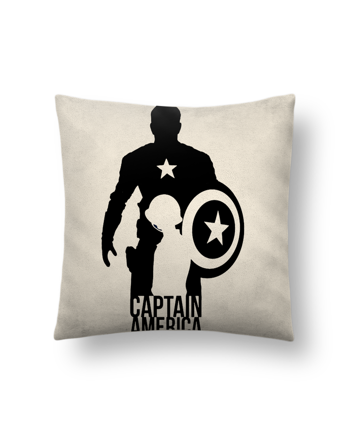 Cushion suede touch 45 x 45 cm Captain america by Kazeshini