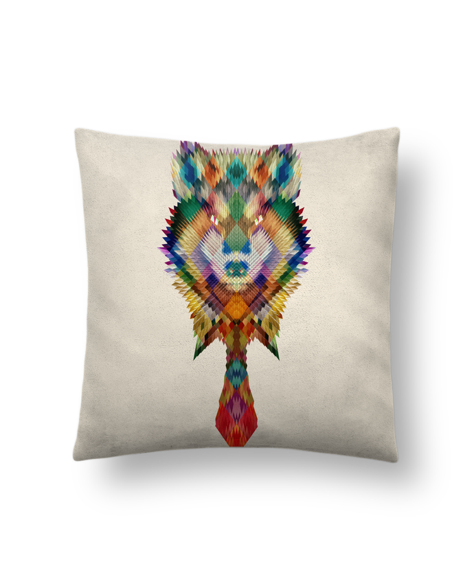 Cushion suede touch 45 x 45 cm Corporate wolf by ali_gulec