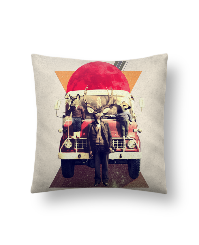 Cushion suede touch 45 x 45 cm El camion by ali_gulec