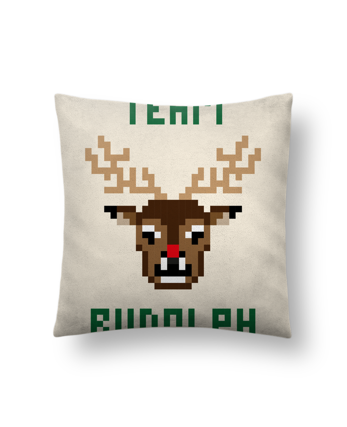 Cushion suede touch 45 x 45 cm TEAM RUDOLPH by tunetoo