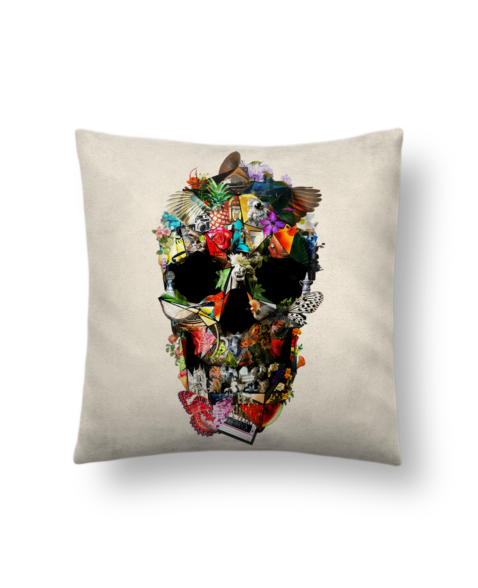 Cushion suede touch 45 x 45 cm Fragile by ali_gulec