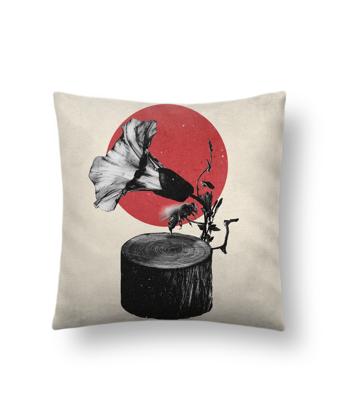 Cushion suede touch 45 x 45 cm Gramophone by ali_gulec
