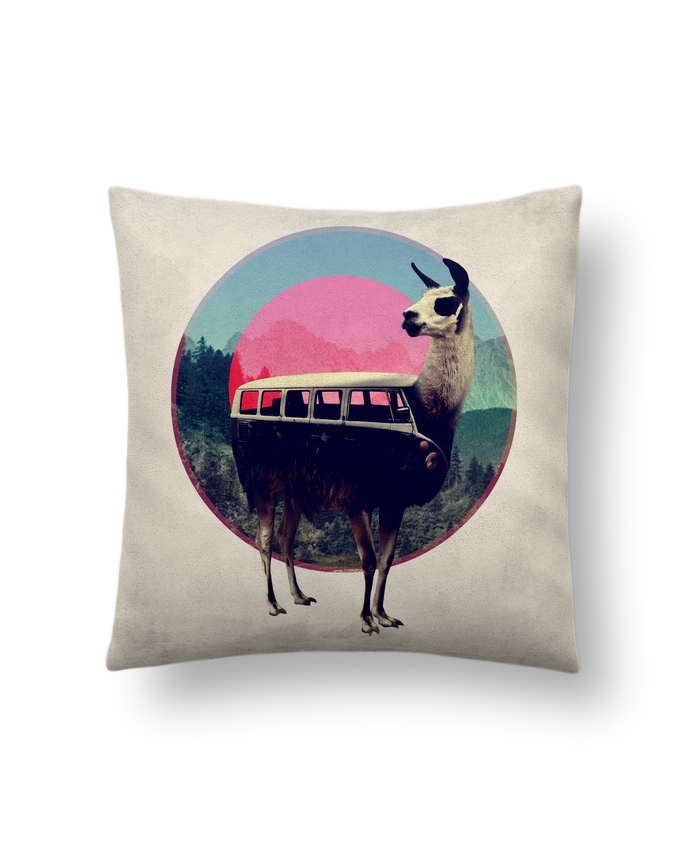 Cushion suede touch 45 x 45 cm Lama by ali_gulec