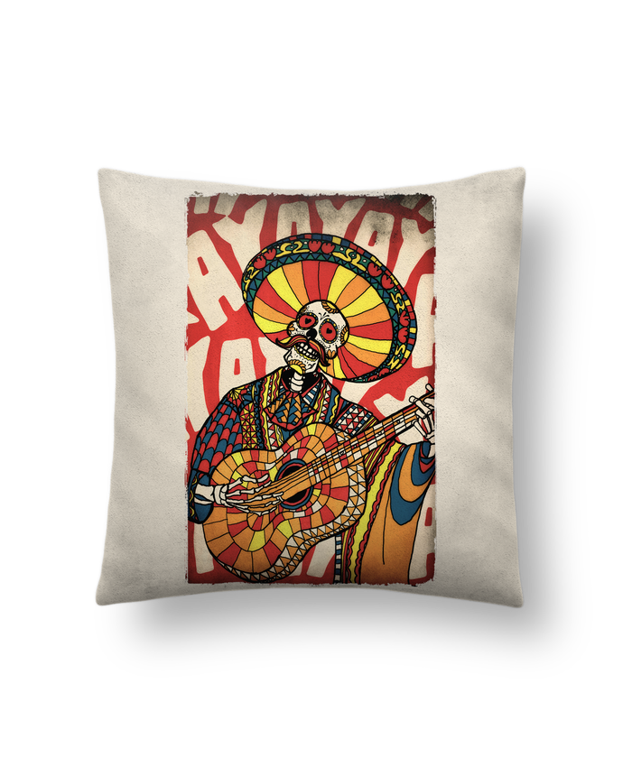 Cushion suede touch 45 x 45 cm Mariachi by ali_gulec