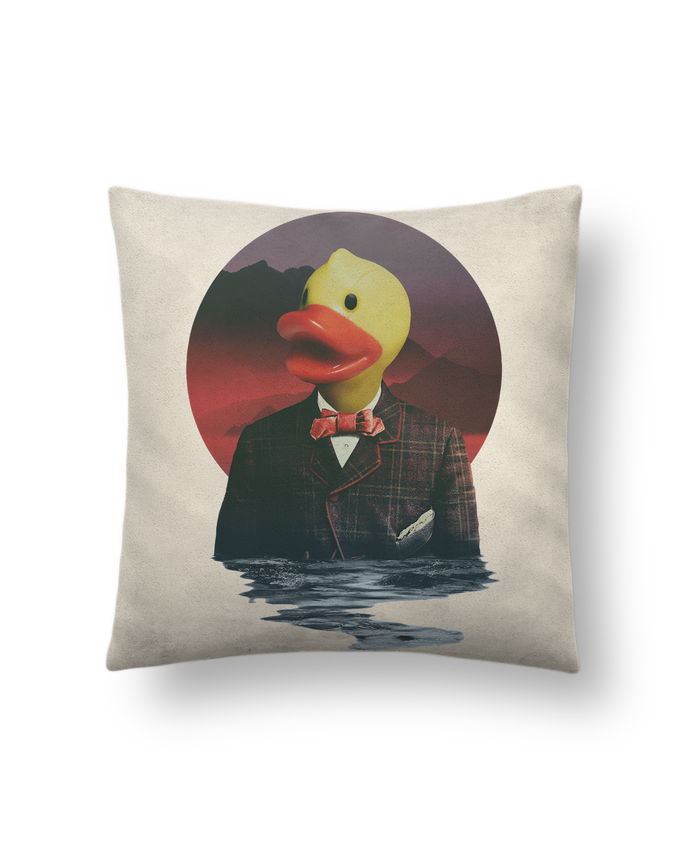 Cushion suede touch 45 x 45 cm Rubber ducky by ali_gulec