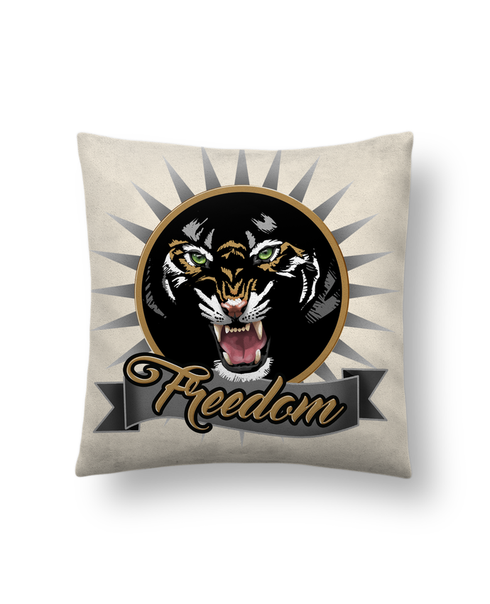 Cushion suede touch 45 x 45 cm tigre by kayenn