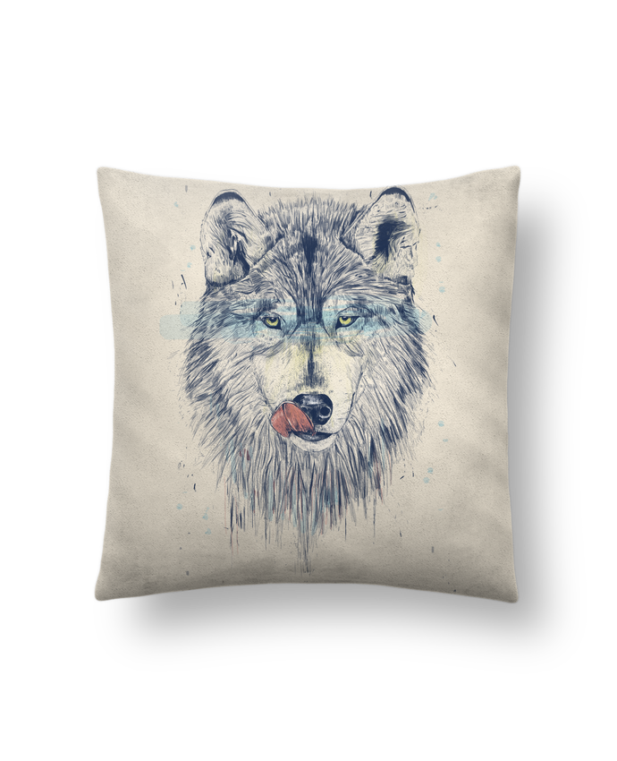 Cushion suede touch 45 x 45 cm Dinner Time by Balàzs Solti