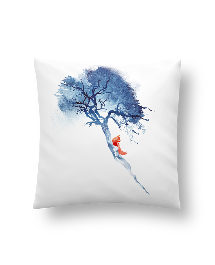 Cushion synthetic soft 45 x 45 cm There's no way back by robertfarkas